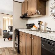 EXHILARATION-Kitchen and Living Room