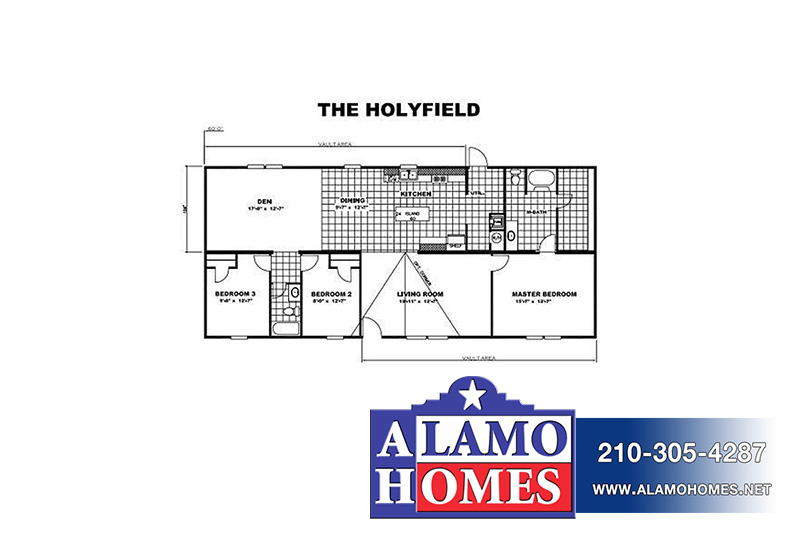 TruMH Holyfield / Jubilation Mobile Home Branded Floor Plan