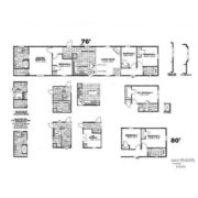 Clayton Sierra Vista SEV16764B Mobile Home Floor Plan