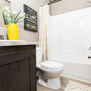 The Resolution RSV16763X Mobile Home Guest Bathroom