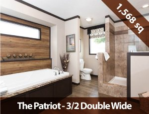 Mobile Homes For Sale - 3/2 Patriot