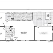 Fleetwood-Weston-28603W-Floor-Plan
