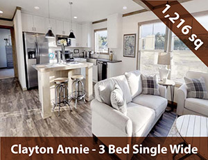 Clayton Annie Single Wide Home