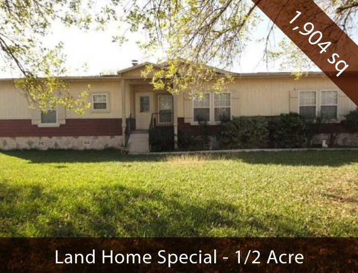 Land/Home Package in Pleasanton, TX